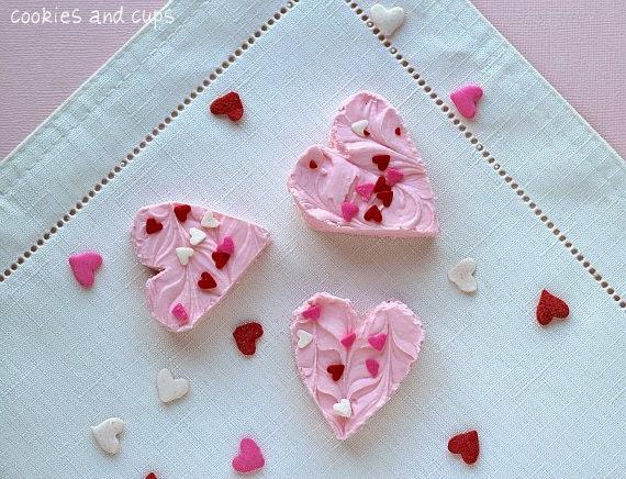 Recetas para San Valentin, Fudge de Fresa