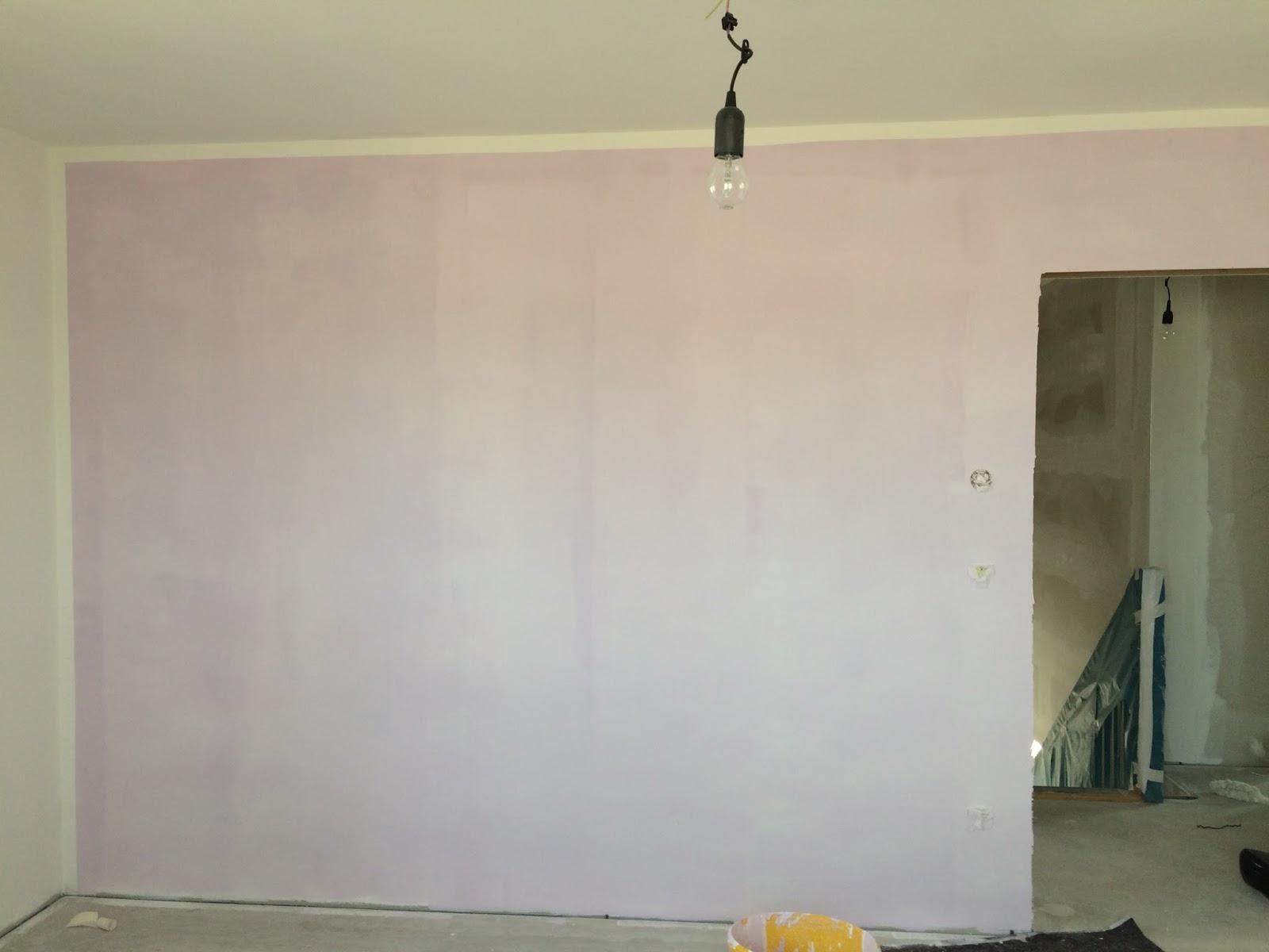 dietrich s baublog und schon kommt farbe an die wand. Black Bedroom Furniture Sets. Home Design Ideas