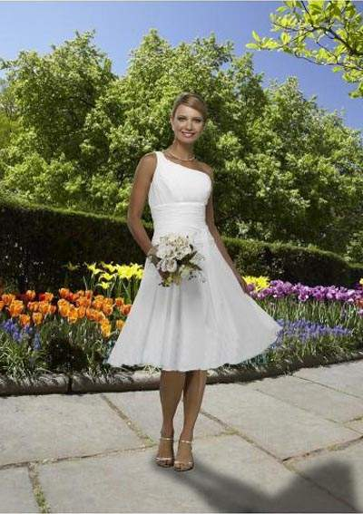 Perfect short beach wedding dresses 2012 for Short wedding dresses 2012