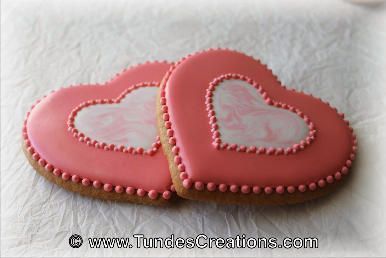Valentine's cookie set