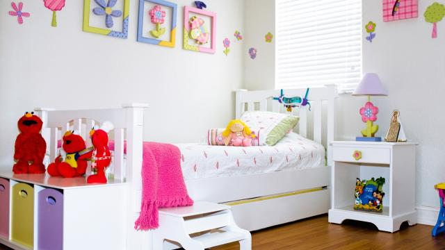 C mo decorar un dormitorio peque o para ni os for Como decorar un dormitorio