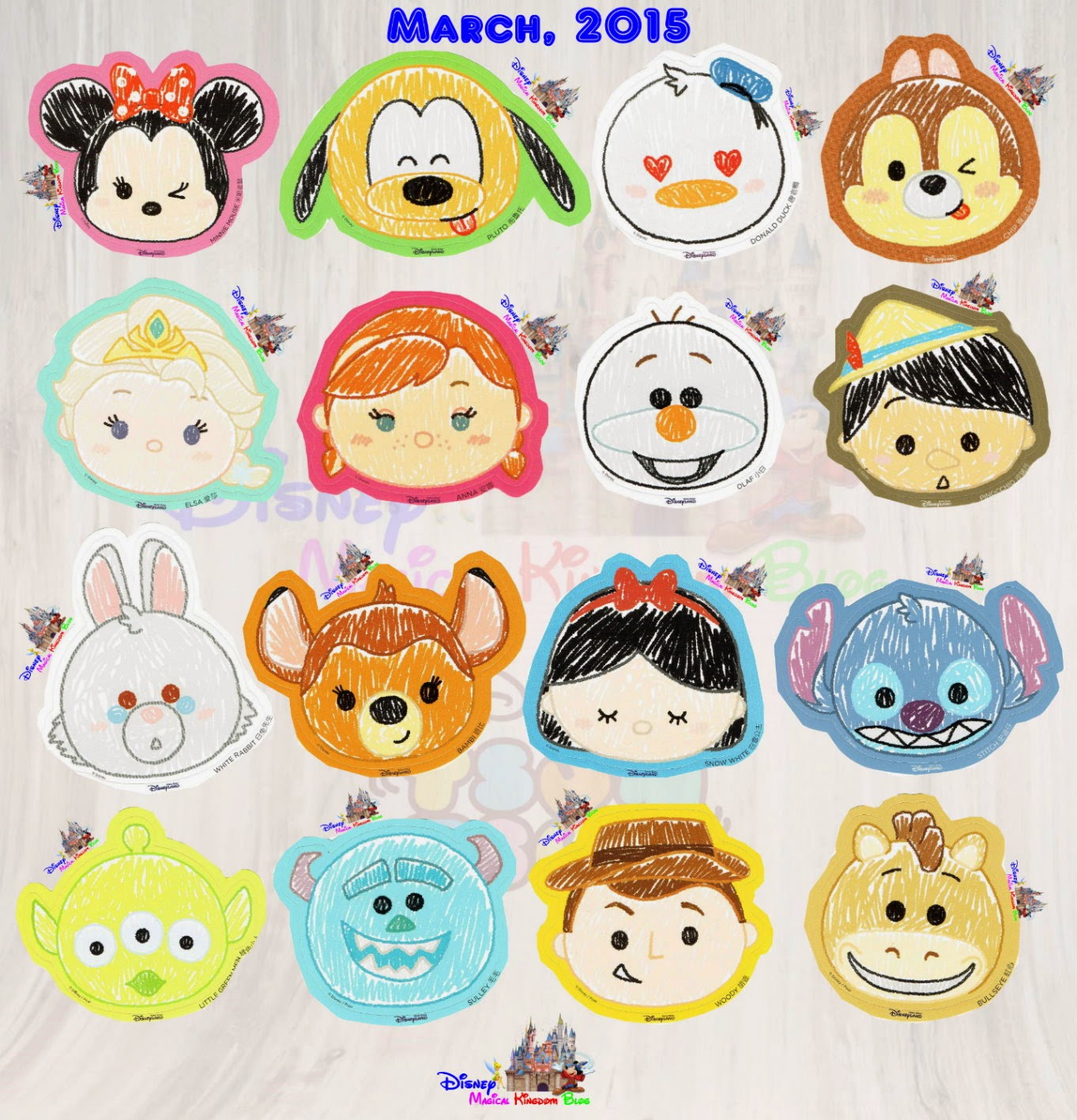 how to draw dumbo tsum tsum step by step