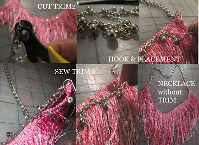 Fringe jewellery DIY Bloggers