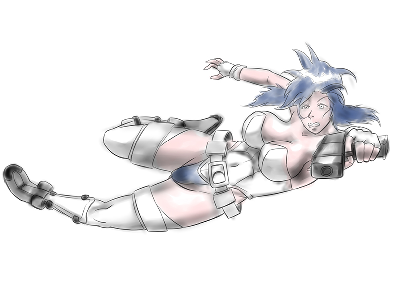 [Sketch] Motoko Kusanagi