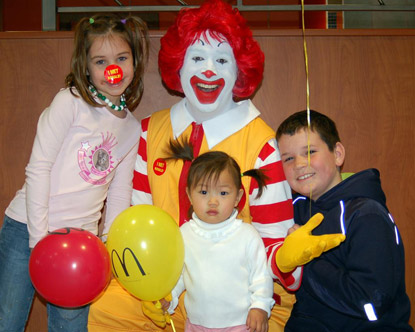 Retire ronald mcdonald junk food marketing to kids non toxic kids its about an event that just took place in vermont and the effort to retire ronald mcdonald the friendly clown that lures children voltagebd Gallery