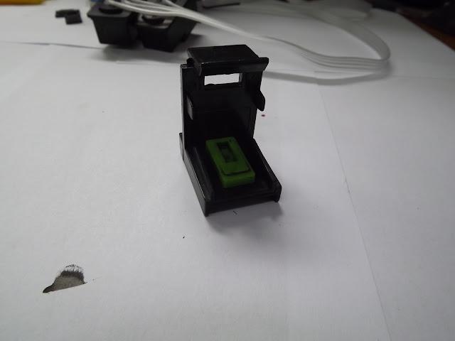 Установка СНПЧ на Canon MP250, MP280 в картинках