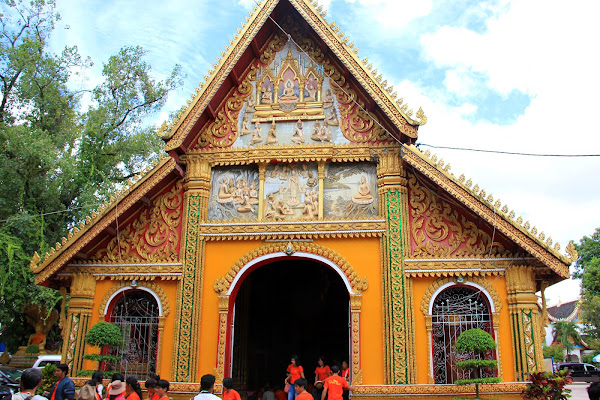 Templo Wat Si Muang de Vientian