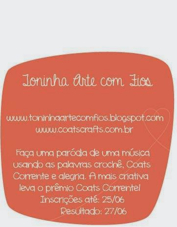 concurso no blog da toninha