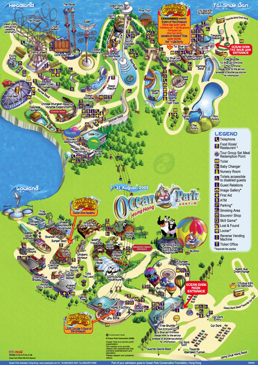 Offwinding ocean park is located in wong chuk hang and nam long shan in the southern district of hong kong it is a must see theme park when you are in hong kong gumiabroncs Image collections