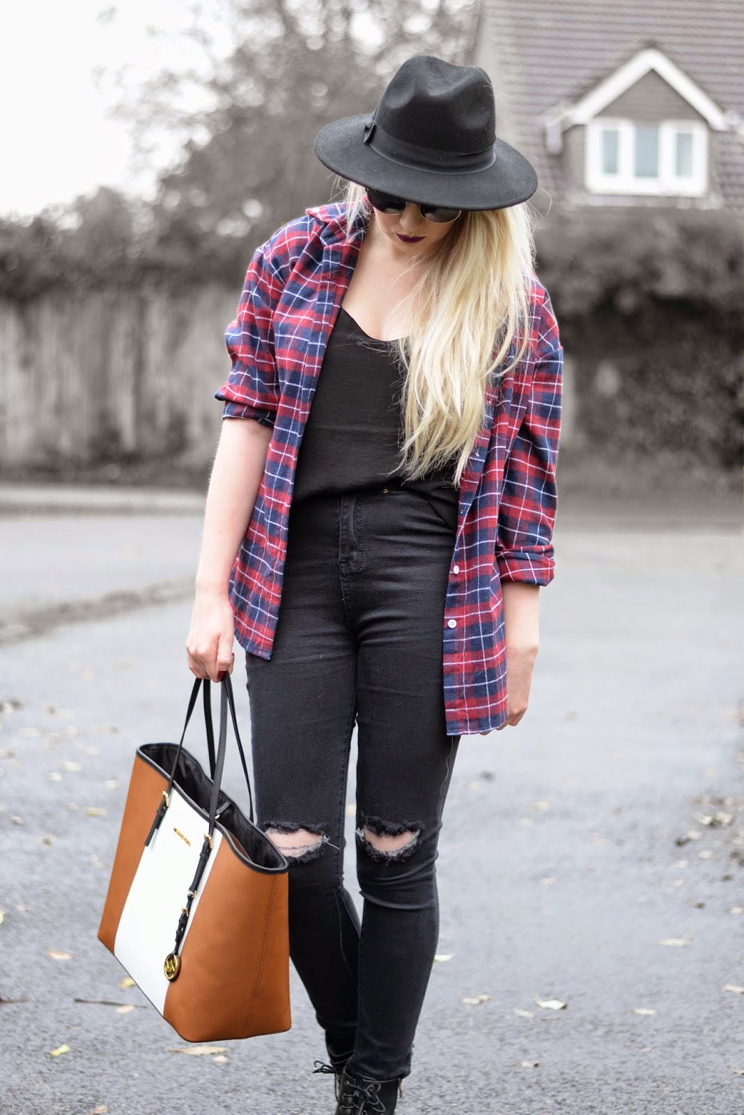 Sammi Jackson - Checked Shirt