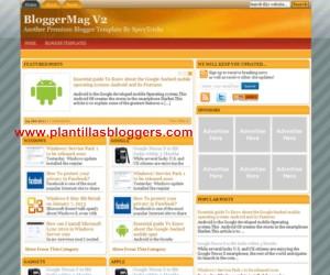 plantilla blogger BloggerMag V2