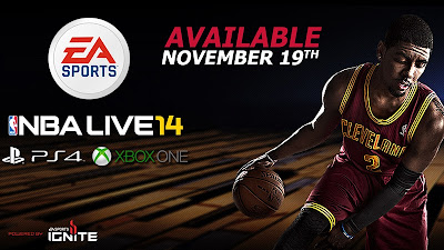 NBA Live 14 Release Date Revealed
