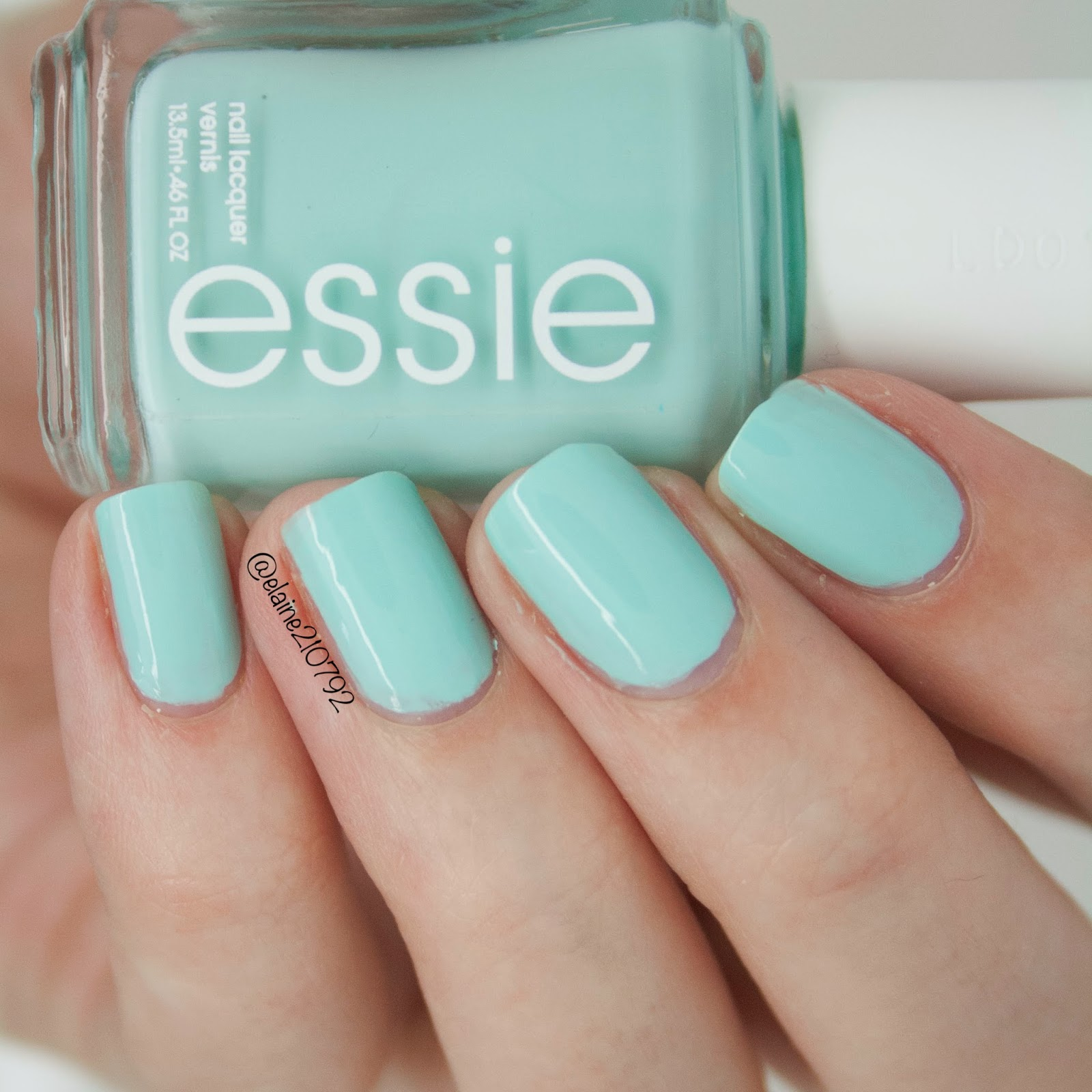 Elaine Nails: Essie Blossom Dandy & Garden Variety Swatch & Comparison