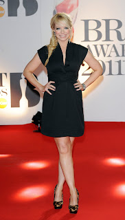 Liz McClarnon at the Brits