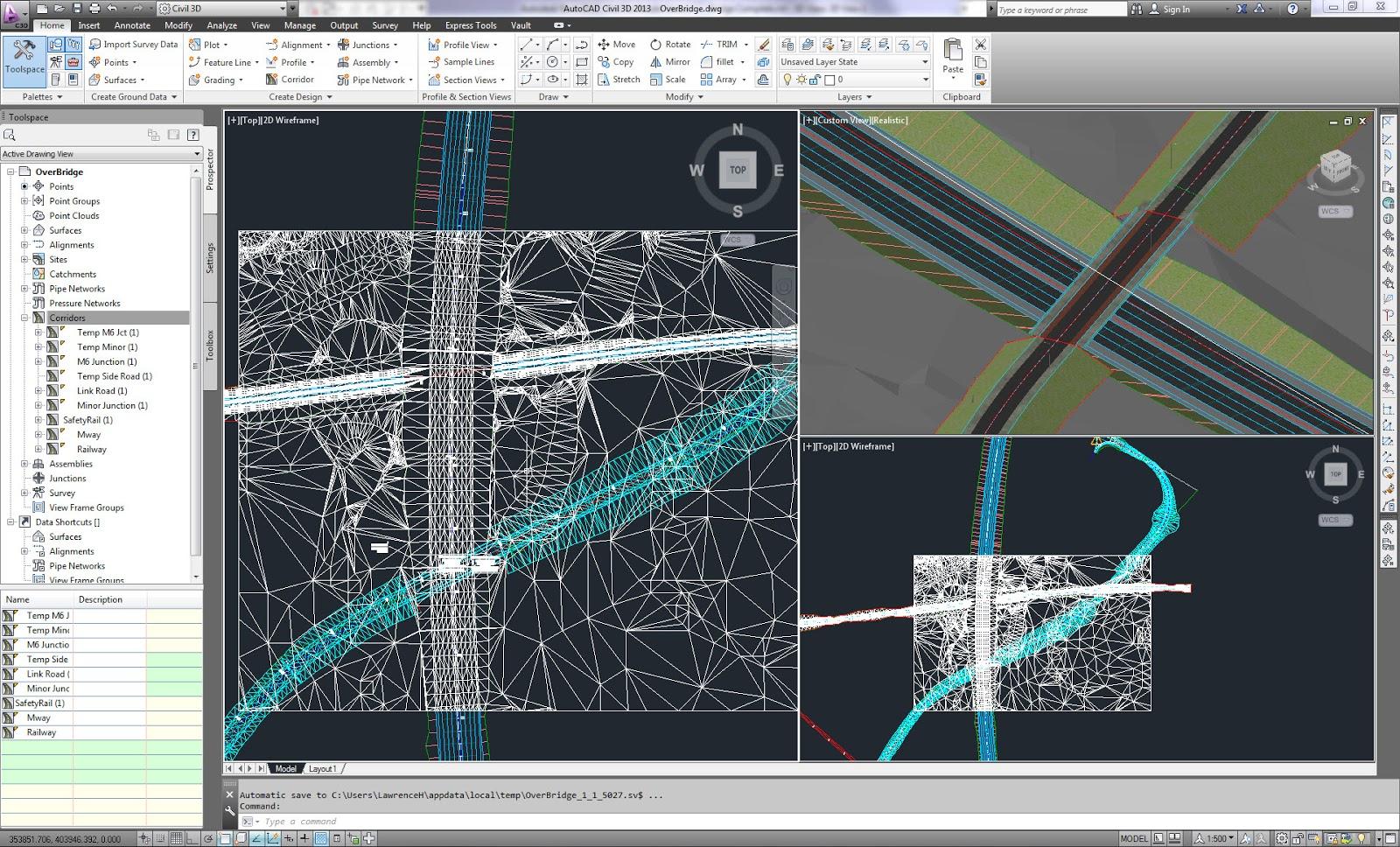 Diseño de carreteras autocad civil 3D