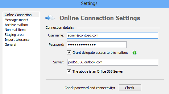 Sean 39 s blog pst capture no mailboxes found for exchange - Office 365 server settings for outlook 2010 ...
