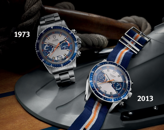 Tudor Montecarlo and Tudor Heritage Chrono Blue
