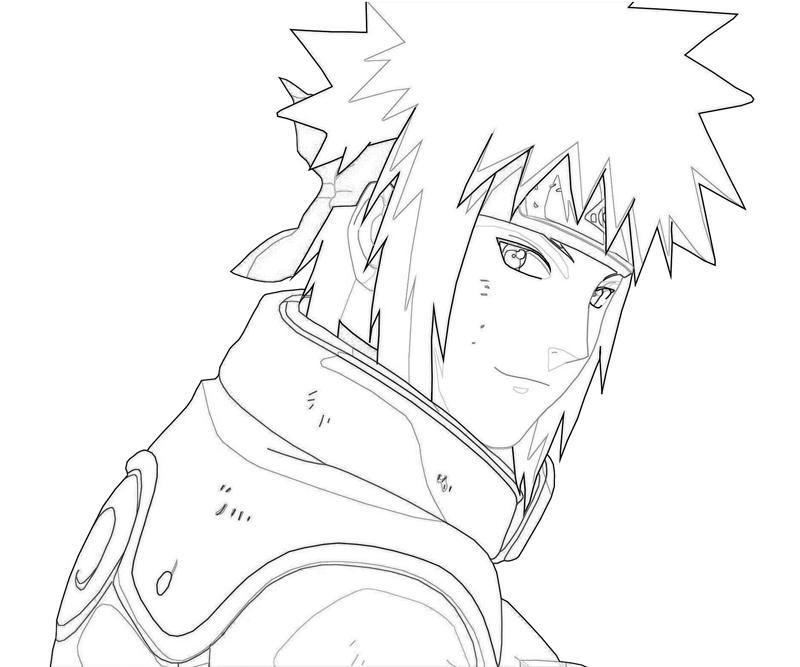 Naruto Minato Portrait Mario