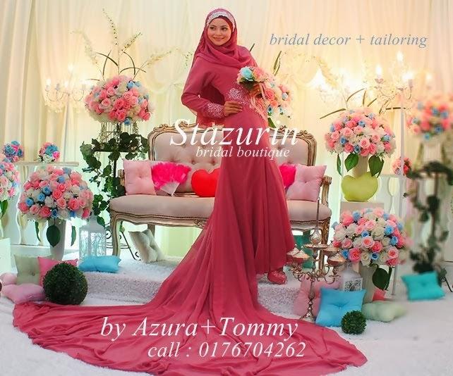 Stazurin Bridal Boutique Dalam Majalah Hijab Fesyen 2013