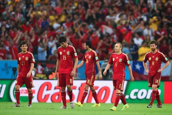 REPETICION SELECCIONES ESPAÑA VS CHILE, Goles, Resultados, Estadisticas, Online