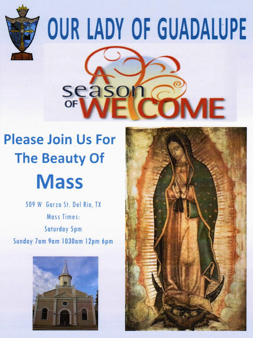 Our Lady of Guadalupe Church Season of Welcom