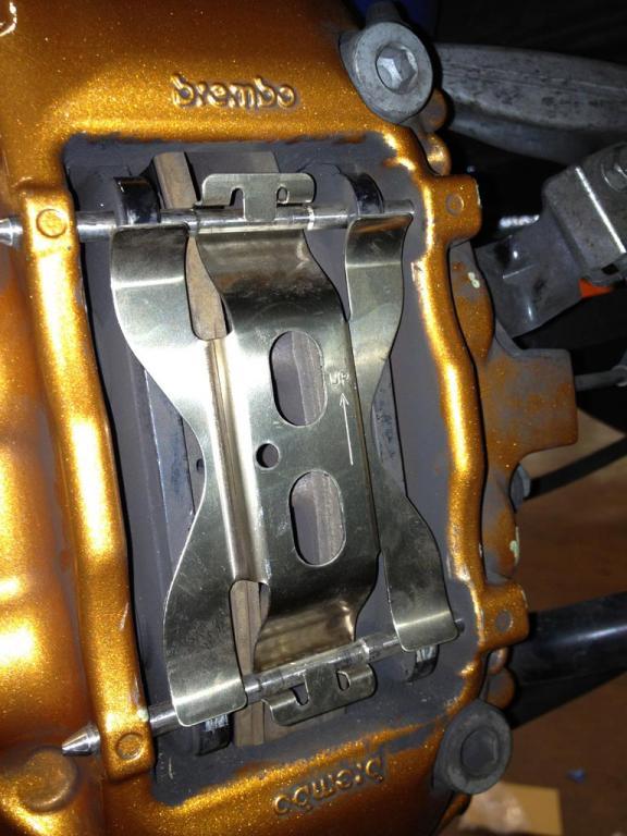 Nissan Gtr R36 >> 2013 Nissan GT-R Rear Brake Caliper Anti-Rattle Clips ...