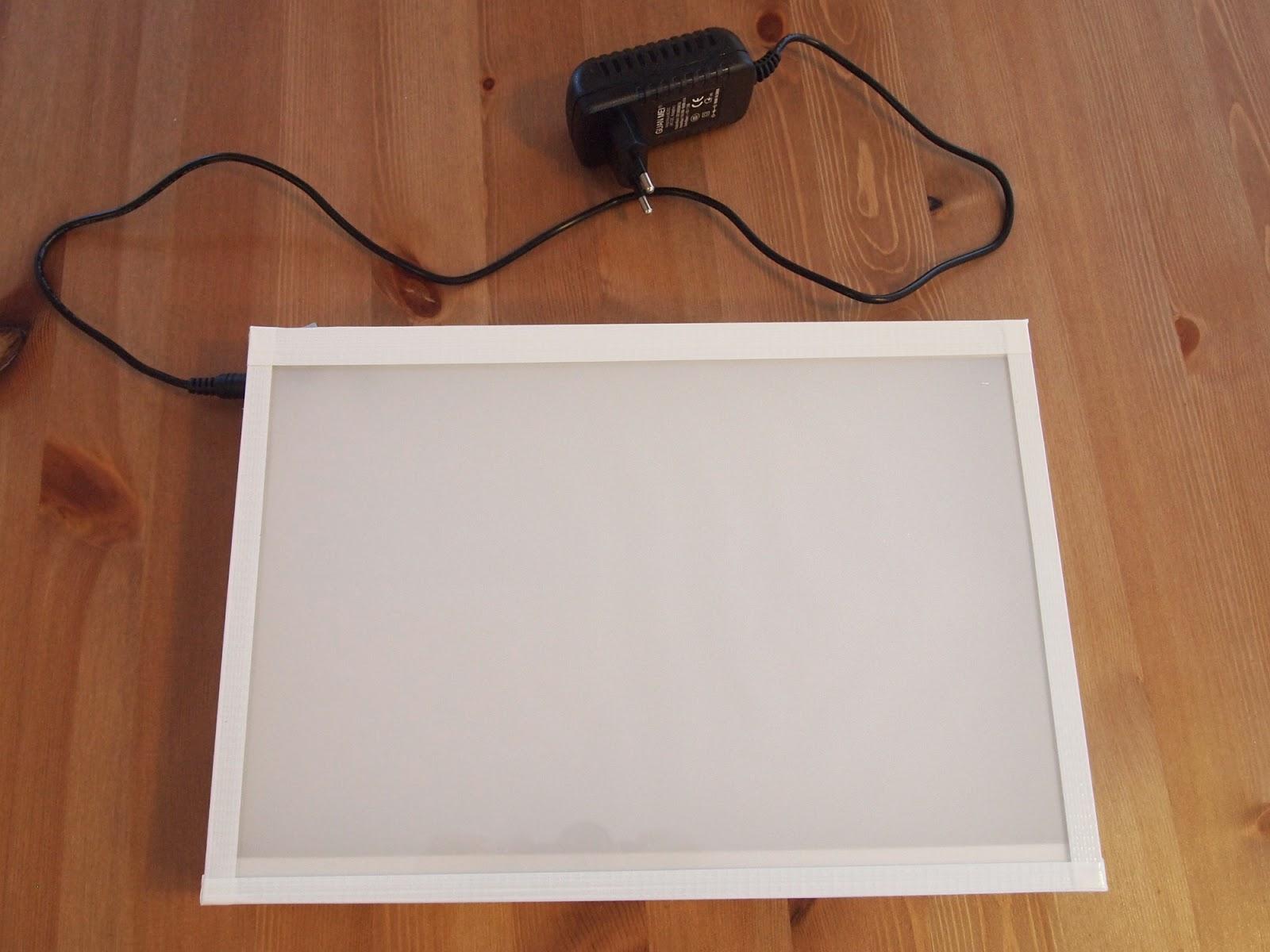 la fabrique d 39 itsmil fabrication d 39 une table lumineuse a4. Black Bedroom Furniture Sets. Home Design Ideas