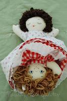 Fabric Doll Babies