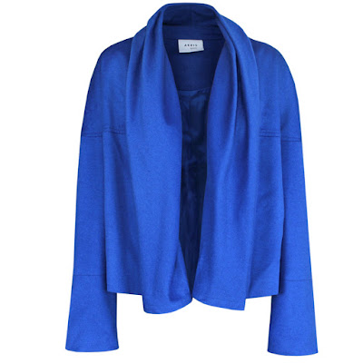 akris punto royal blue jacket