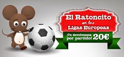 marca apuestas bono 20 euros partido ligas europeas 6-9 marzo