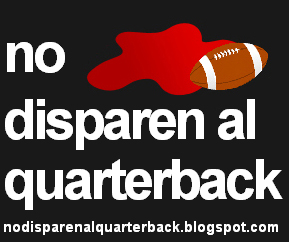 no disparen al quarterback