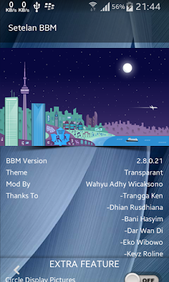 BBM Mod Transparan Version 2.8.0.21
