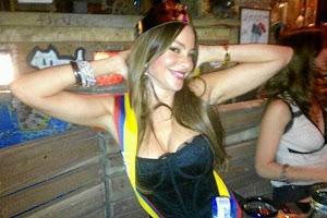 Sofía Vergara, estuvo este fin de semana disfrutando de una fiesta en un reconocido sitio de Bogta