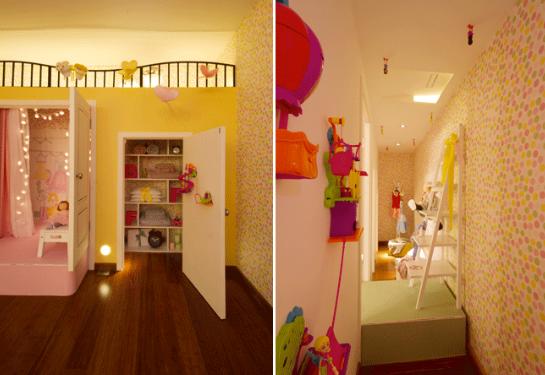 Dormitorio para Niña Quarto da Bagunça Casa Cor Sao Paulo