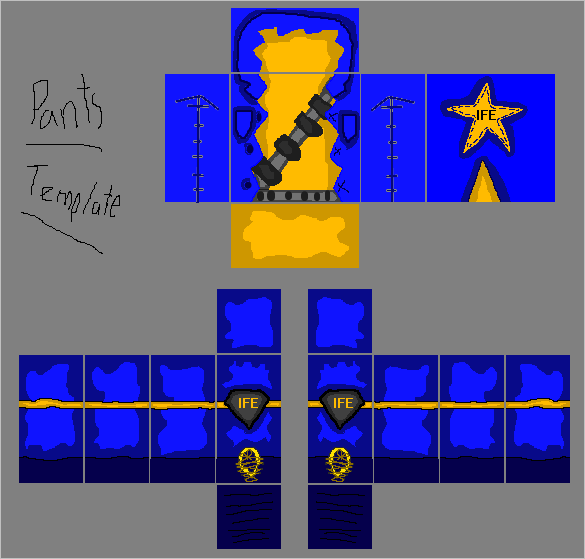 Roblox Pants Template Out Of Darkness