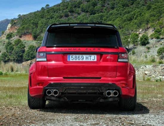 Range Rover CLR RS от Lumma Design 5