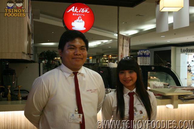 Akiba Cafe staff