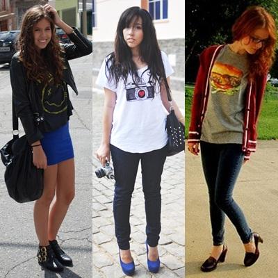Divertido adolescente vestir