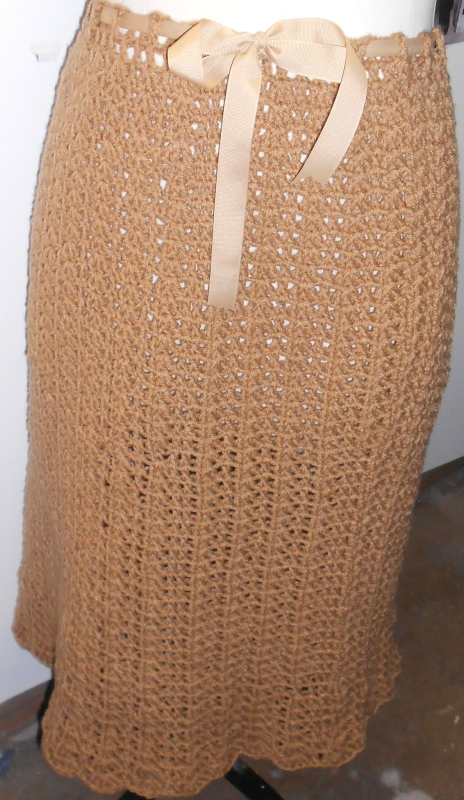 Crochet Skirt : Alethias Crochet Skirt
