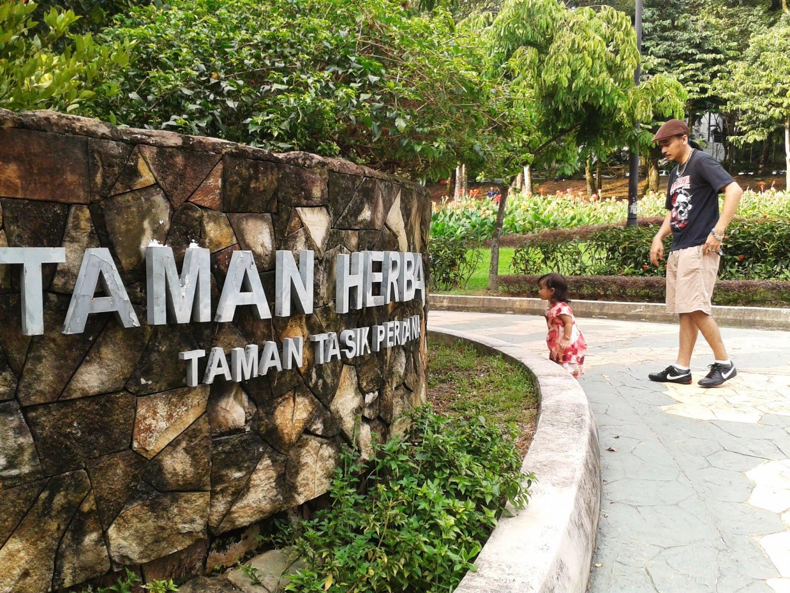 foto zaza: Taman Herba Taman Tasik Perdana