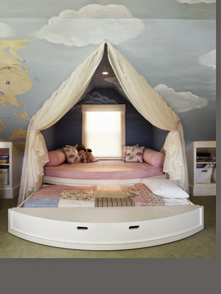 Unique bedroom decor ideas for kids dashingamrit for Cool designs for a bedroom