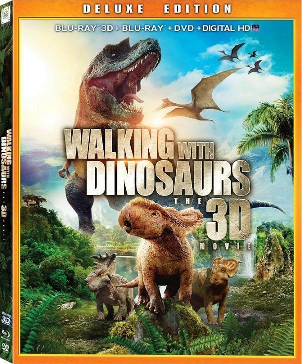 Walking With Dinosaurs 3D (Caminando entre Dinosaurios)(2013) 1080p BRRip 3D SBS 1.9GB mkv Dual Audio AC3 5.1 ch