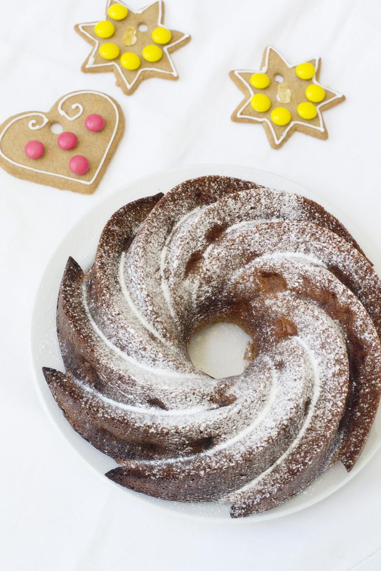 receta de bizcocho de navidad