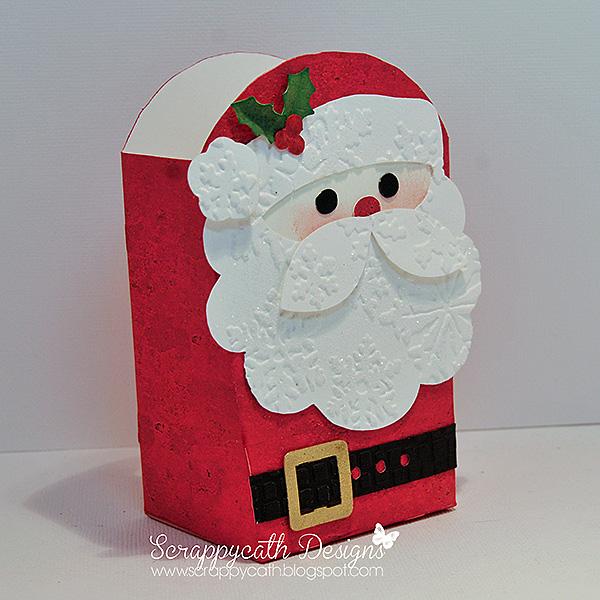 Santa Pattern Cut Out i Cut The Bag And The Santa