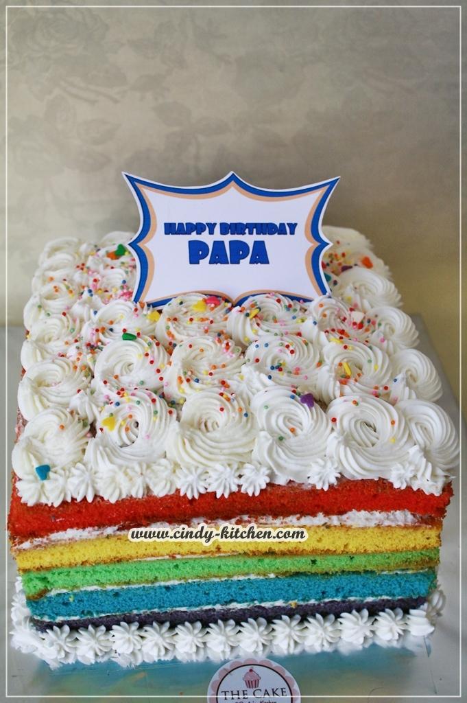 TheCAKE Happy Birthday PAPA