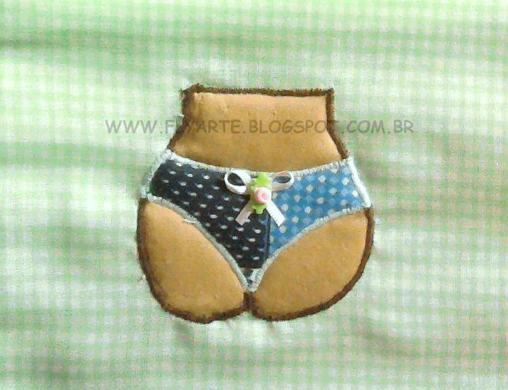 Patchwork  Croch    Porta Bijou Porta Make  Porta Calcinha  Etc