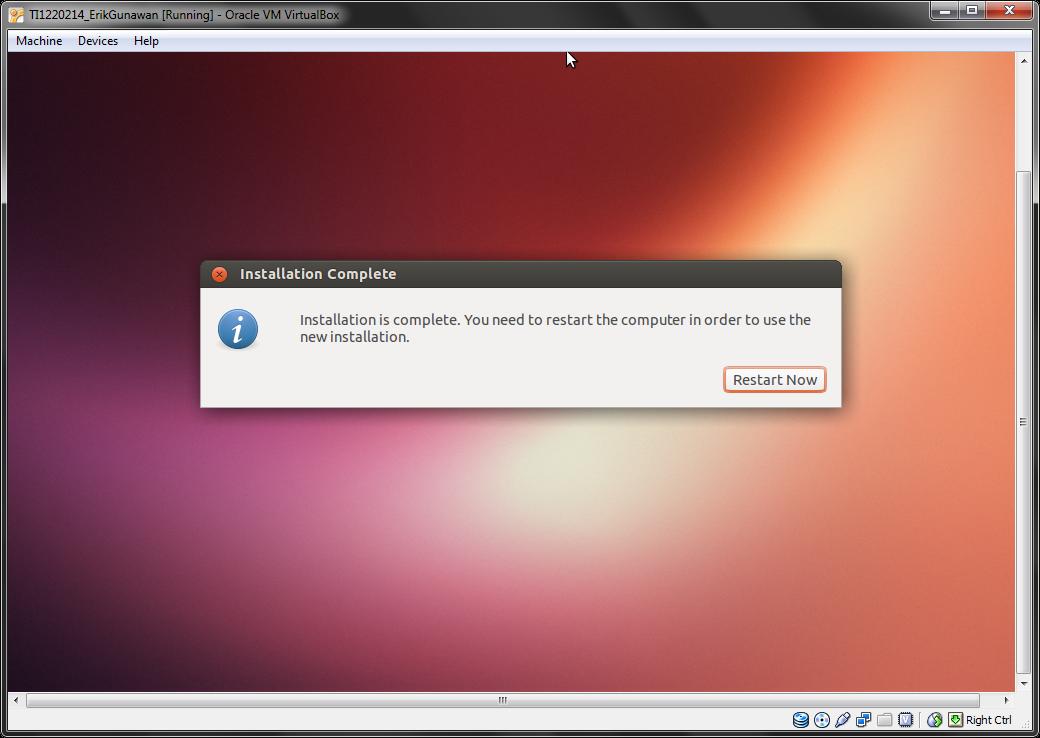 Linux: Menginstal Linux Ubuntu 13.04 di VirtualBox ~ Erik