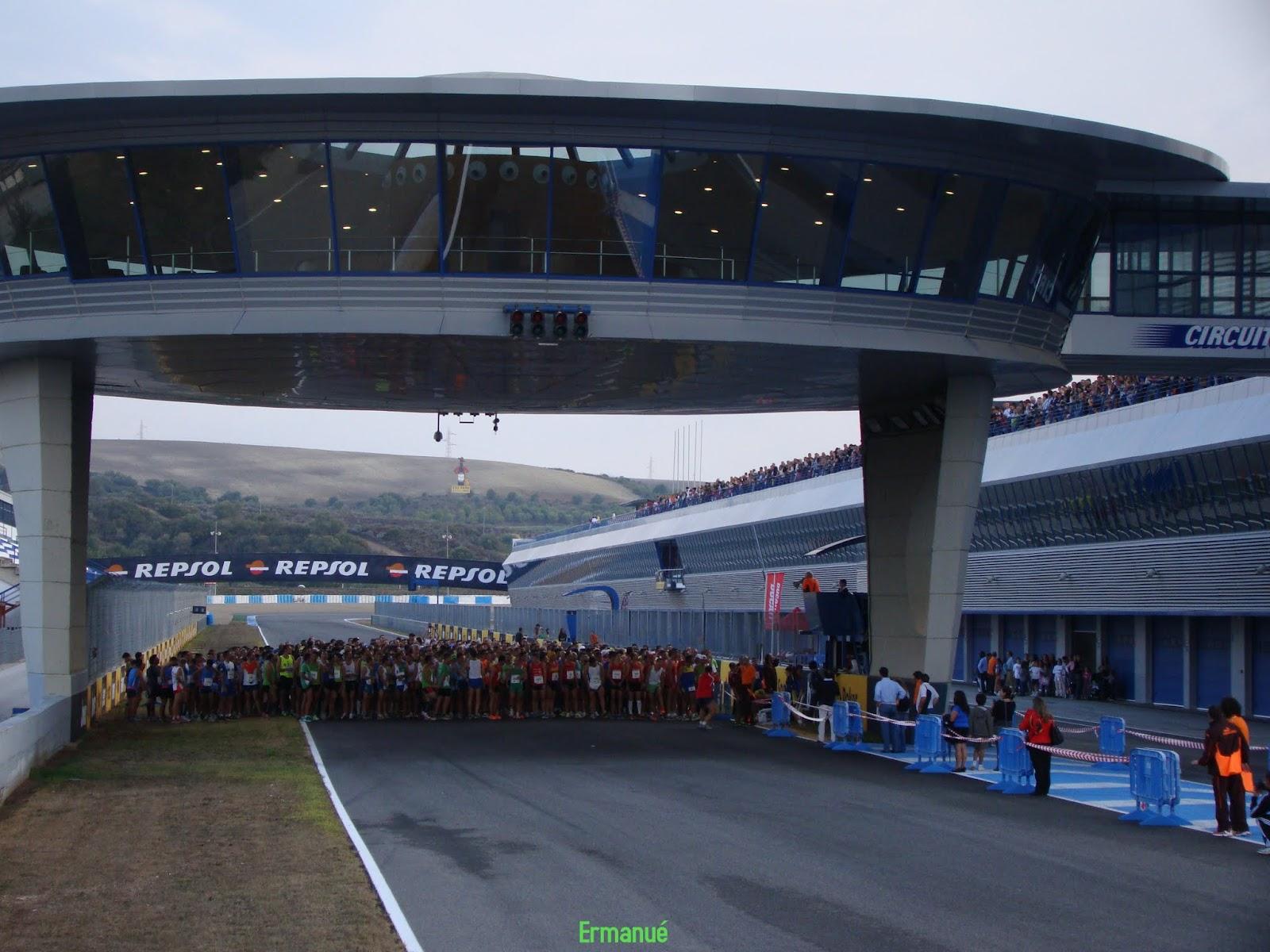 C d los jartibles i carrera solidaria circuito de jerez for Puerta 3 circuito jerez