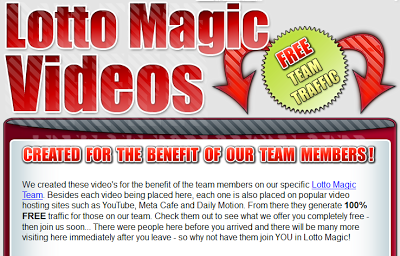 These is the Team Lotto Magic online video collection