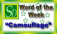 Word of the week - Camouflage